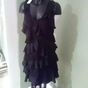 Brand New Ann Taylor Loft Ruffle Dress